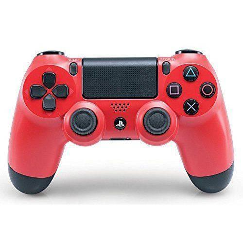 Controle Sony Dualshock 4 Vermelho Sem Fio