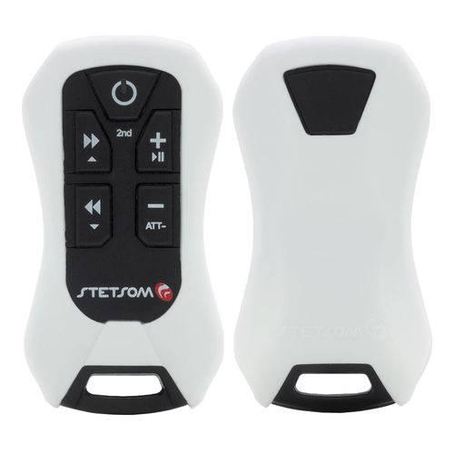 Controle Stetsom Sx4 Branco 8 Funções 200 Metros com Receptor
