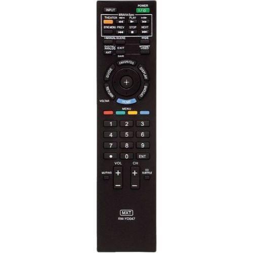 Controle Tv Sony Rm-yd047 Kdl-32bx305 Kdl-32ex305 Kdl-32ex306,kdl-32ex405,kdl-32ex605,kdl- C01201