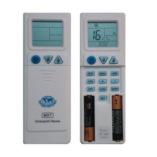 Controle Universal Ar Condicionado Samsung Electrolux Trane