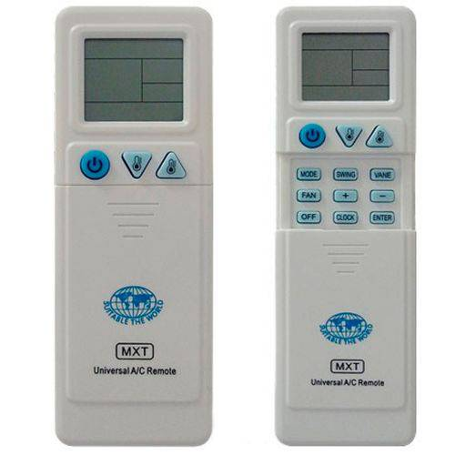 Controle Universal para Ar Condicionado C01065 - Mxt