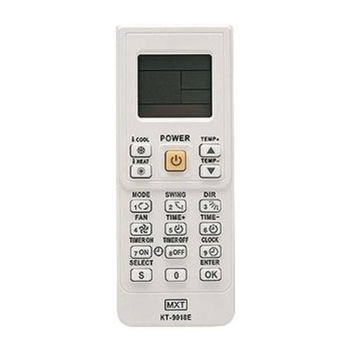 Controle Universal para Ar Condicionado Kt-9018e C01247