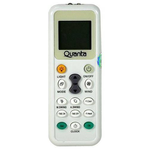 Controle Universal para Ar Condicionado Quanta Qteac3010 - Branco