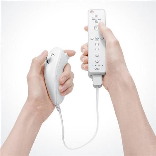 Controle Wii Remote Nunchuck Branco