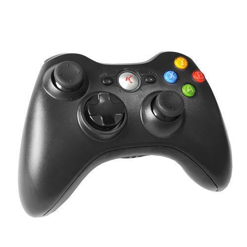 Controle Wireless Joystick Xbox 360 Slim Sem Fio Knup