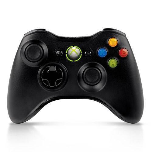 Controle Xbox 360 Original Sem Fio Wireless 1460 Microsoft