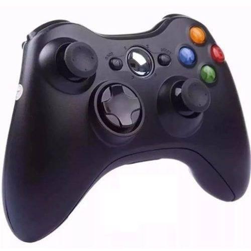 Controle Xbox 360 Pc Wireless Sem Fio Joystick Video Game