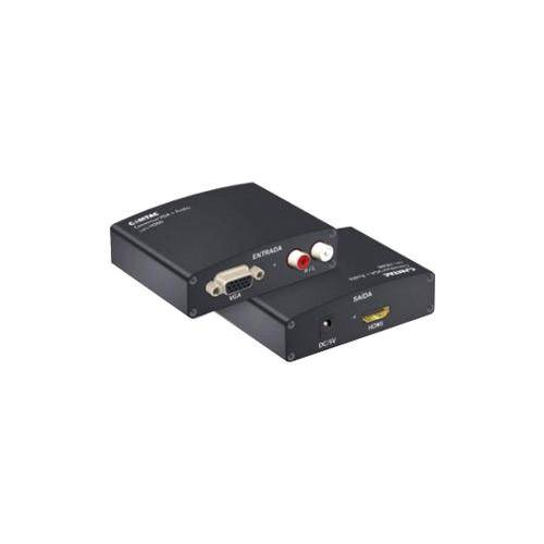 Conversor Comtac Vga + Audio para Hdmi 9218