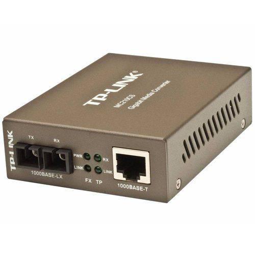 Conversor de Midia Gigabit Mc210cs Tp Link