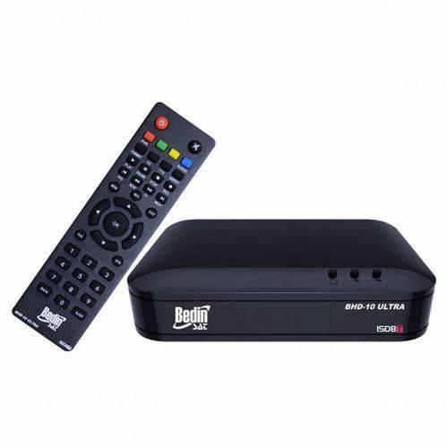 Conversor Digital Terrestre BHD-10s Bedinsat DTV Hdmi