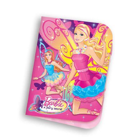 Convite Aniversário Barbie Segredo das Fadas Convite de Aniversário Barbie e o Segredo das Fadas - 08 Unidades