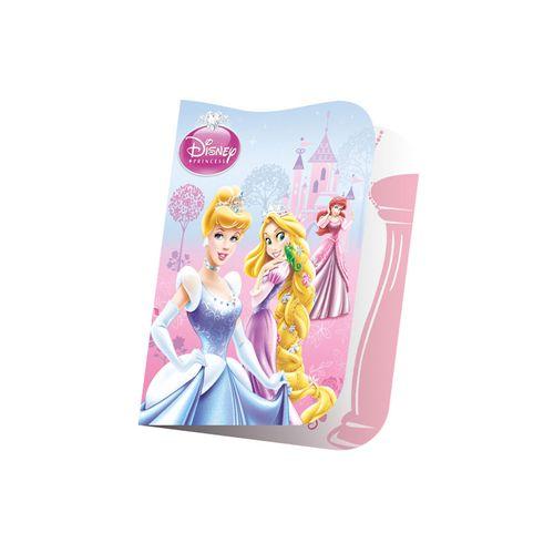 Convite Aniversário Princesas Glamour Pequeno 8 Unidades - Regina 1012902