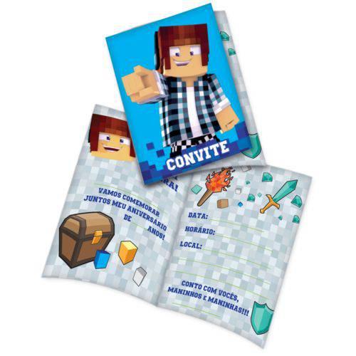 Convite Authentic Games C/8