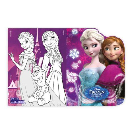 Convite de Aniversário Frozen - 08 Unidades