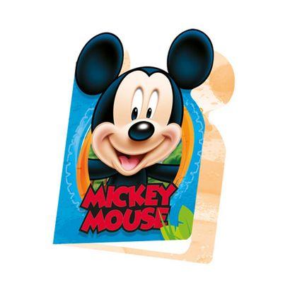 Convite Mickey Mouse 10x15cm 8un Disney Regina