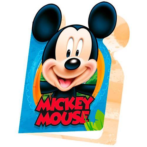 Convite Pequeno Mickey Diversão - 8 Unidades - Regina Festas