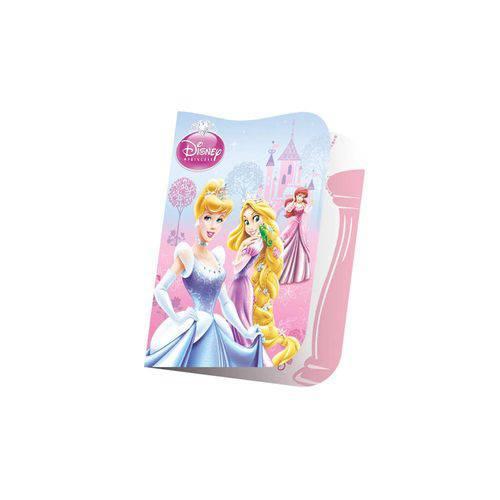 Convite Pequeno Princesas Glamour C/ 8 Unidades