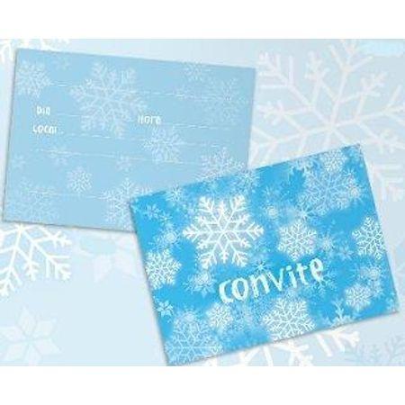 Convite Snow - 08 Unidades