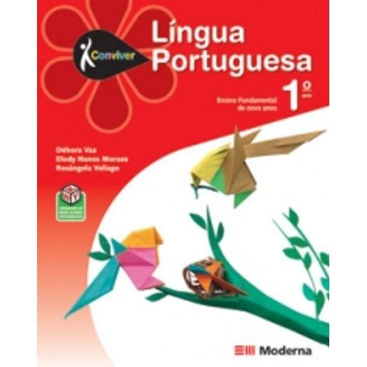 Conviver Portugues 1 Ano - Ced - Moderna