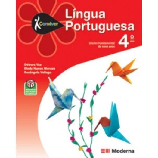 Conviver Portugues 4 Ano - Ced - Moderna