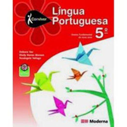 Conviver Portugues 5 Ano - Ced - Moderna