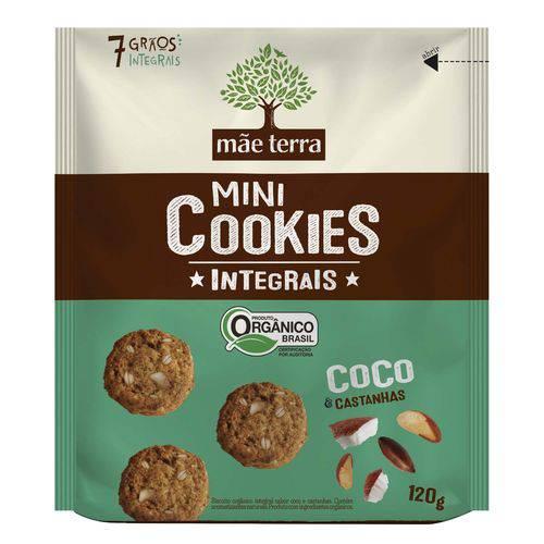 Cookie Mãe Terra Orgânico de Côco 120g