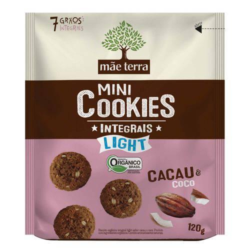 Cookie Mãe Terra Orgânico Light de Cacau 120g