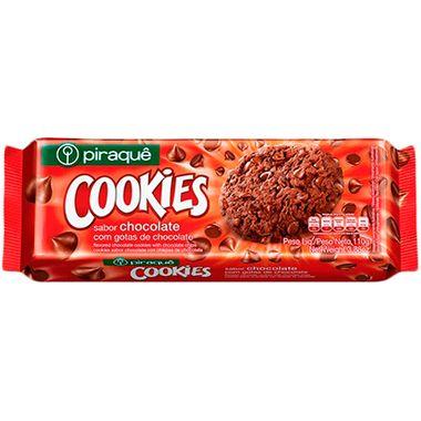 Cookies Sabor Chocolate Piraquê 110g