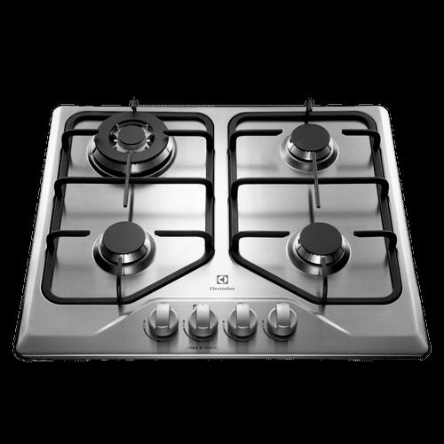 Cooktop 4 Bocas Electrolux a Gás (GT60X) Cooktop a Gás 4 Queimadores (GT60X)