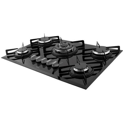 Cooktop 5 Bocas Chef 5 Tc Preto Philco Bivolt