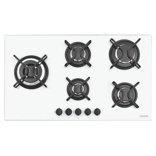 Cooktop 5 Queimadores Penta Side Plus W 5gg Tri 90 Tramontina 94709371 - Bivolt