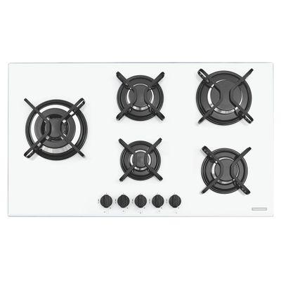 Cooktop 5 Queimadores Penta Side Plus W 5GG Tri 90 Tramontina 94709371