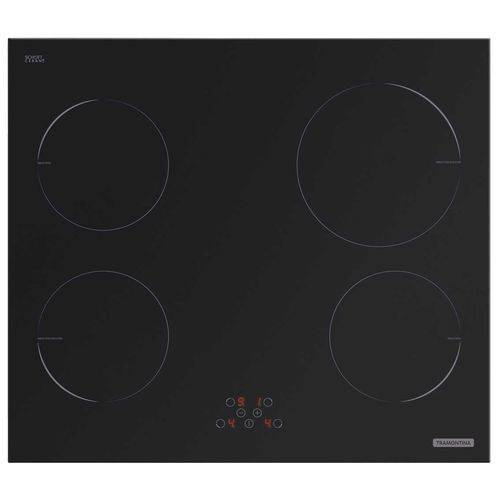Cooktop New Square Touch B 4EI 60 220v Tramontina