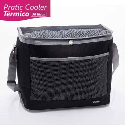 Cooler Bolsa Térmica 30 Litros Preta - Paramount