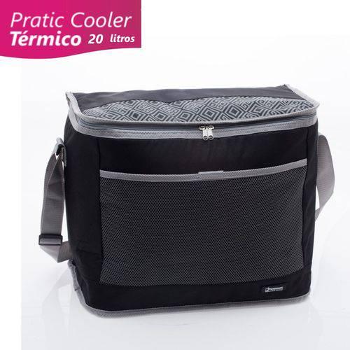 Cooler Bolsa Térmica 20 Litros Preto - Paramount