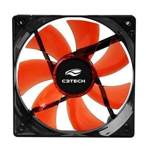 Cooler Fan Led 12 X 12 X 2,5 Cm Storm F7-L100RD C3tech