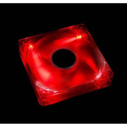 Cooler Fan Led Vermelho 12cm 120x120mm Dex Dx-12l