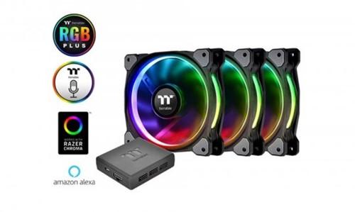 Cooler P/ Gabinete Thermaltake Ring+ 12RGB Radiator   InfoParts