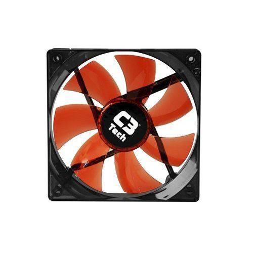 Cooler para Gabinete Laranja C3TECH F7-L100RD