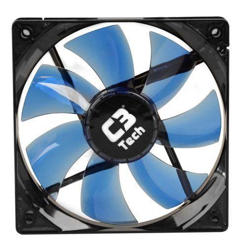 Cooler para Gabinete Storm 120mm Led Azul F7-L100BL - C3Tech