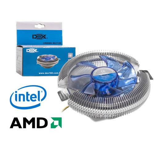 Cooler Universal P/ Cpu Amd-intel Dx-7120