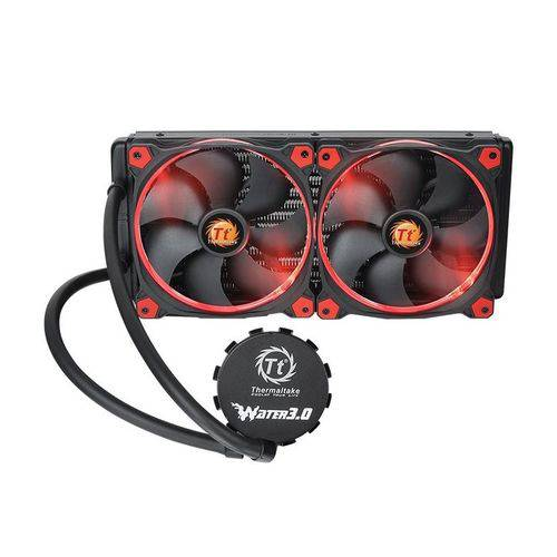 Cooler Thermaltake Water 3.0 Riing Red 280 Cl-w138-pl14re-a