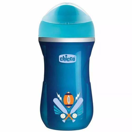 Copo Active Cup Térmico Azul Menino 266ml +14m Chicco 698121
