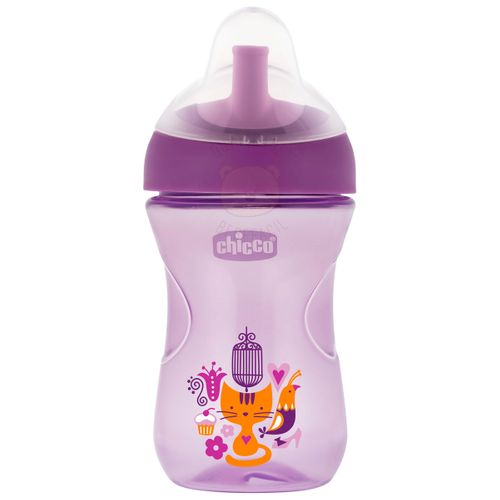 Copo Advanced 266ml (12m+) Girls - Chicco CH5184 COPO ADVANCED CUP 12M+ MENINA