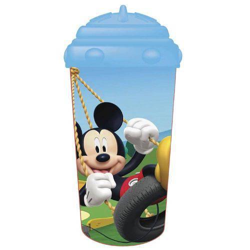Copo C/ Canudo de Silicone Mickey- Multikids Baby BB082