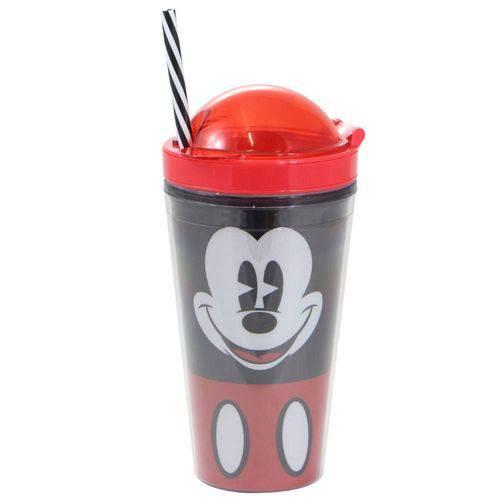 Copo Canudo 2 em 1 Mickey Faces 500ml - Zona Criativa