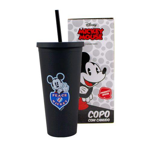 Copo Canudo Mickey Mouse