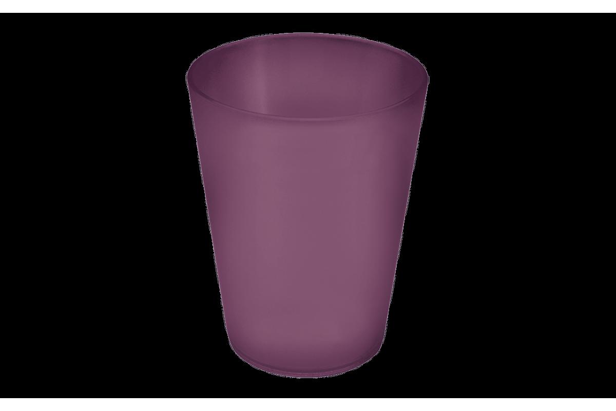 Copo Casual 200ml 7,3 X 7,3 X 8,9 Cm Roxo Púrpura Coza