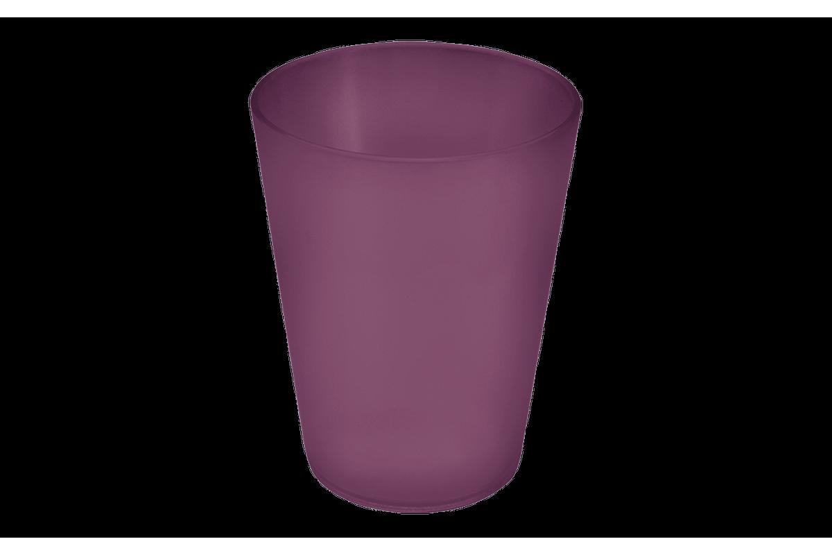 Copo Casual 300ml 8,4 X 8,4 X 10,7 Cm Roxo Púrpura Coza