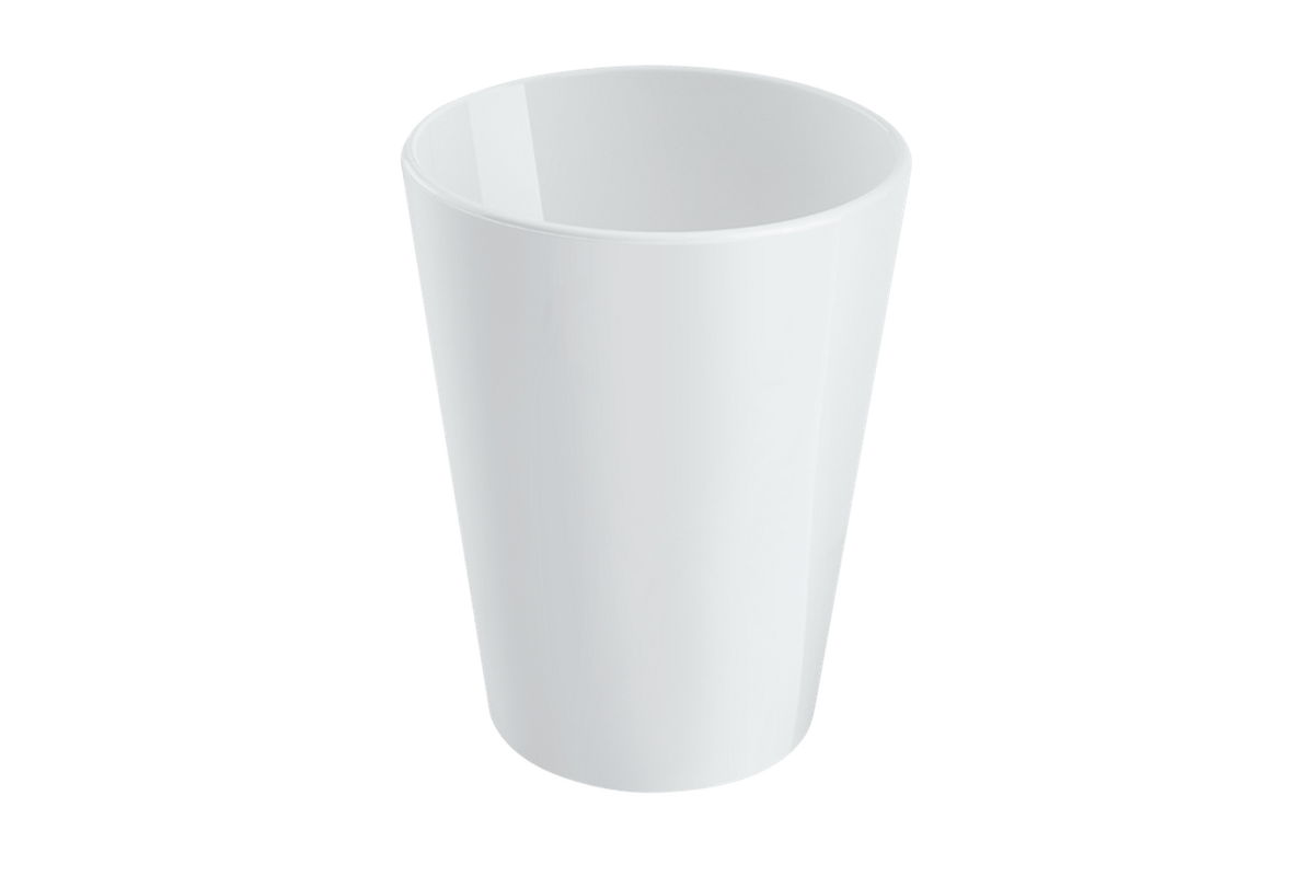 Copo Casual 300ml Branco Coza